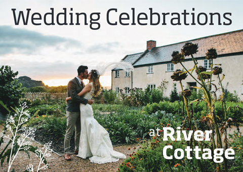 Wedding celebrations at the River Cottage brochure